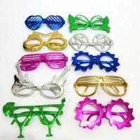 משקפיים מטאלי מבריקות-ללא אור