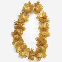 שרשרת הוואי צבע זהב