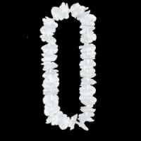 שרשראות הוואי צבע לבן